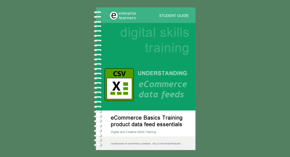 eCommerce datafeed basics workshop